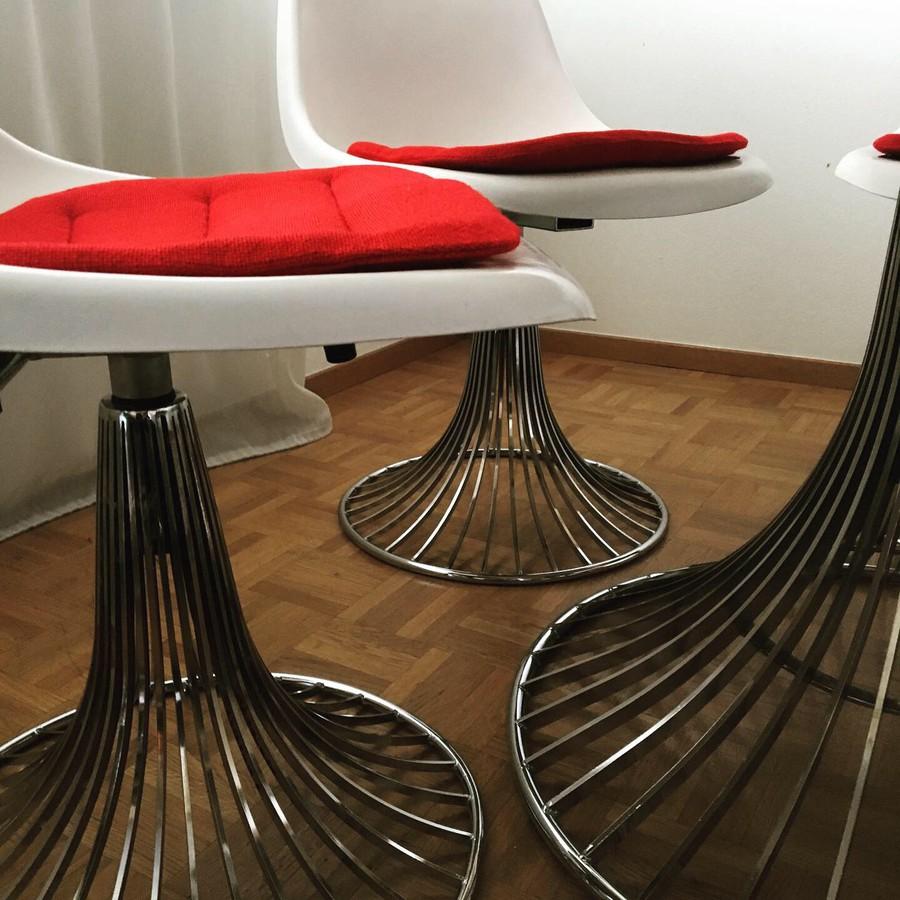 Vintage Tisch und Stuhlen