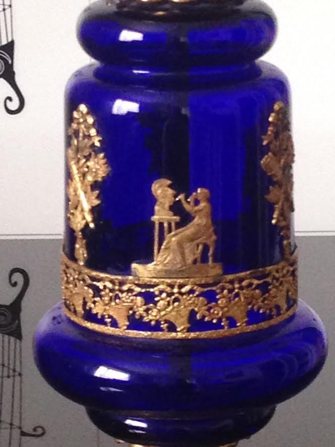 Vintage Tisch Lampe