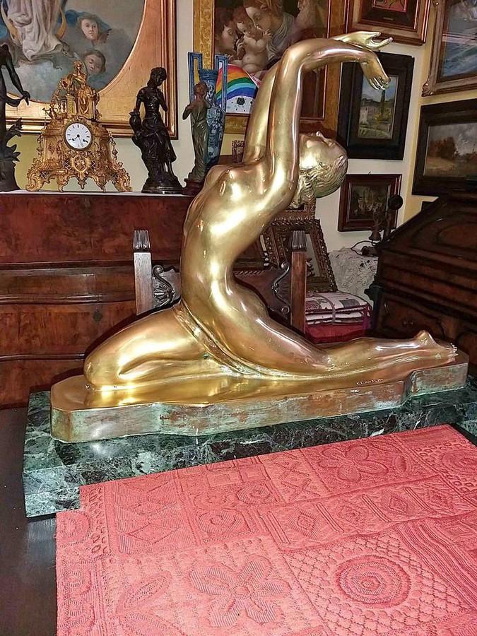 Art Deco Statue