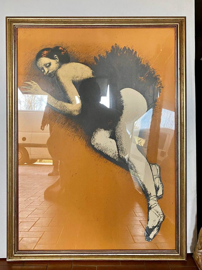 Vintage Lithografie