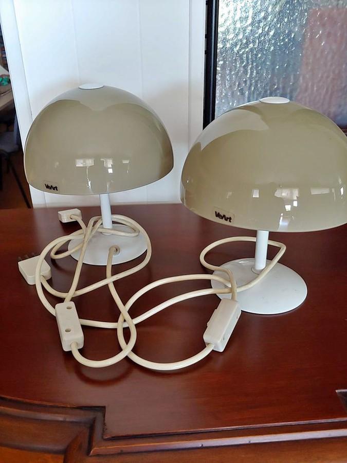 70er Nachttischlampen