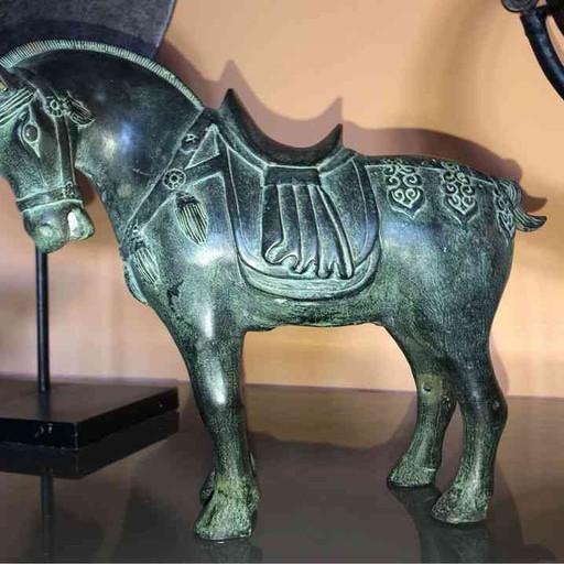 Antik Chinesisches Bronzepferd