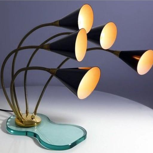 Stilnovo Tischlampe 50er
