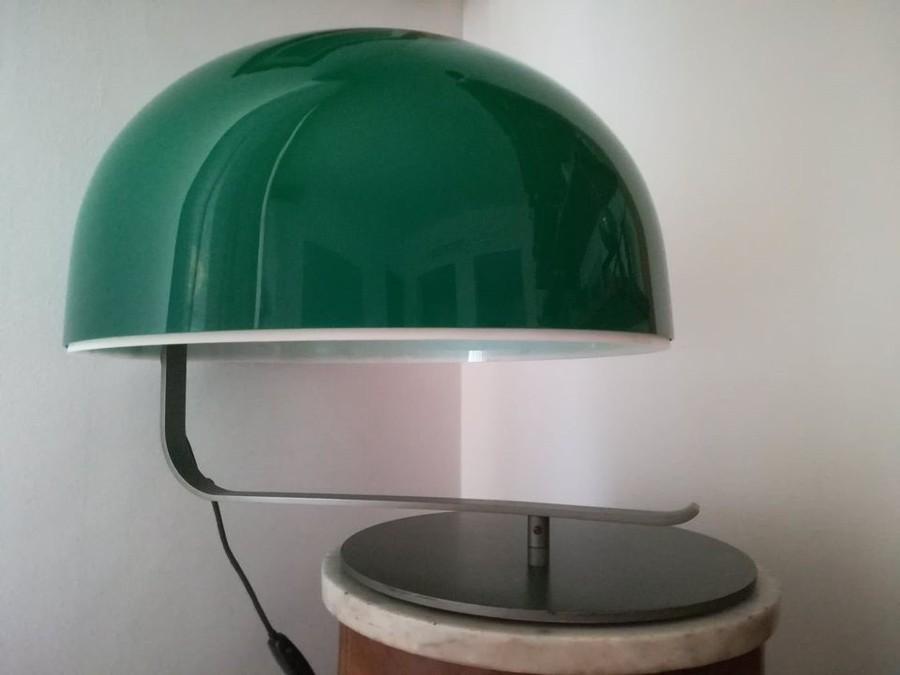 60er Tischlampe Oluce