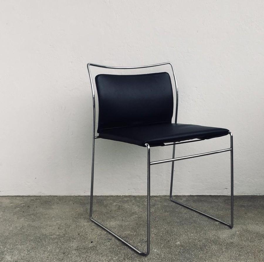 Vier Vintage Stuhlen Gavina