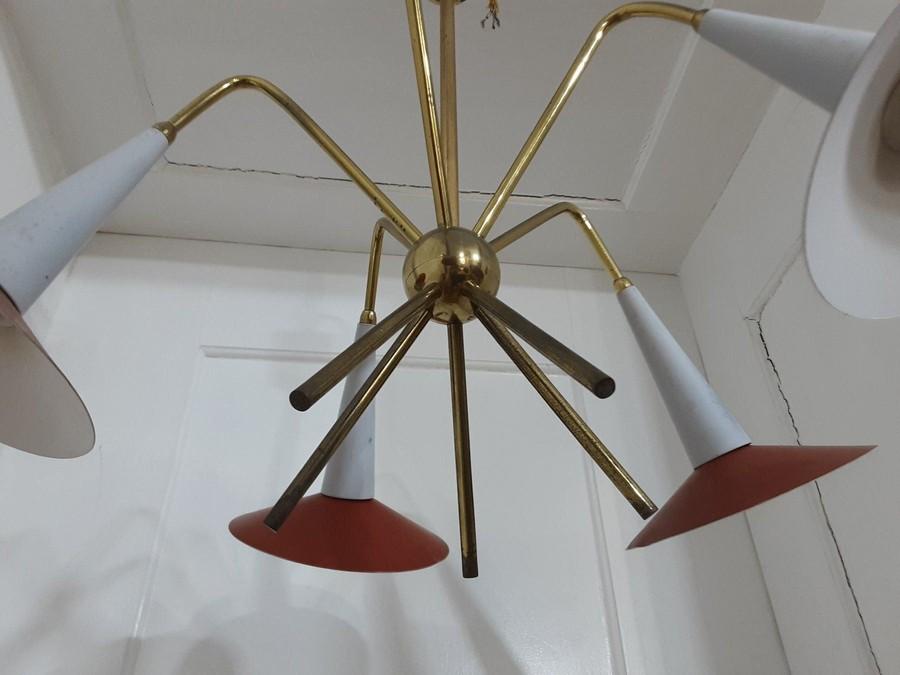 Sputnik Lampe aus 50er