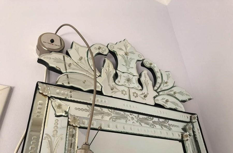 Venezianischer Murano-Spiegel